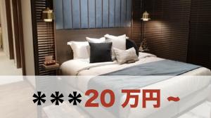 ホテルでイチャイチャの場合:20万円〜